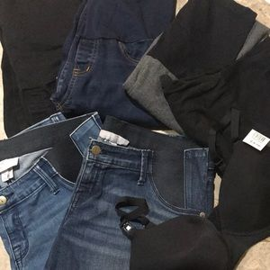 Bundle of maternity clothes Size S/M